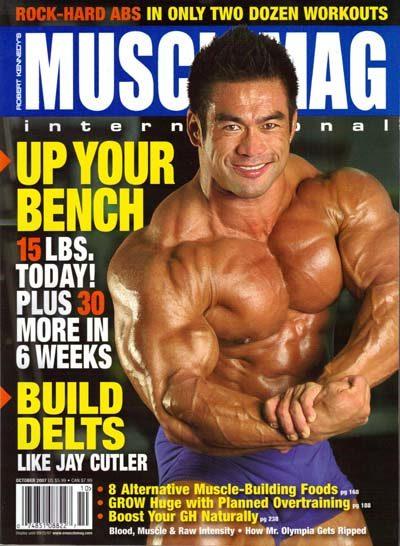 riviste del settore del bodybuilding di hide yamaghishi pro ifbb