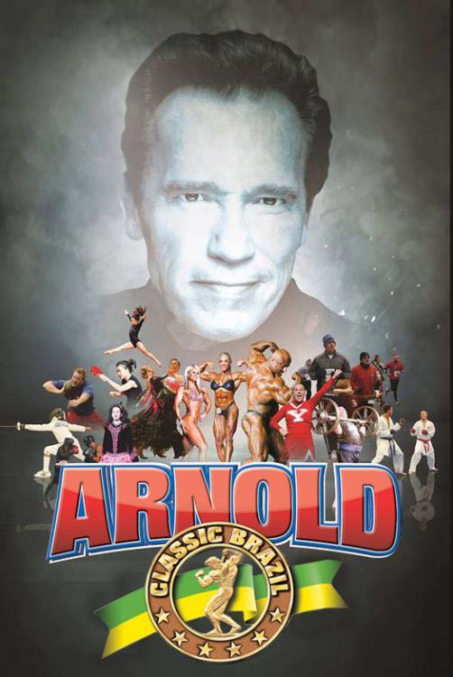 locandina dell'Arnold Classic Brasil 2014