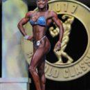 Zulema Duran ifbb ITALY altete sul palco dell'Arnold Classic Ohio 2017 Amateur categoria figure