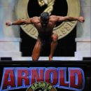 Carlo Michelini IFBB ITALY ATLETE sul palco dell'Arnold Classic Ohio Amateur 2017 categoria classic bodybuilding