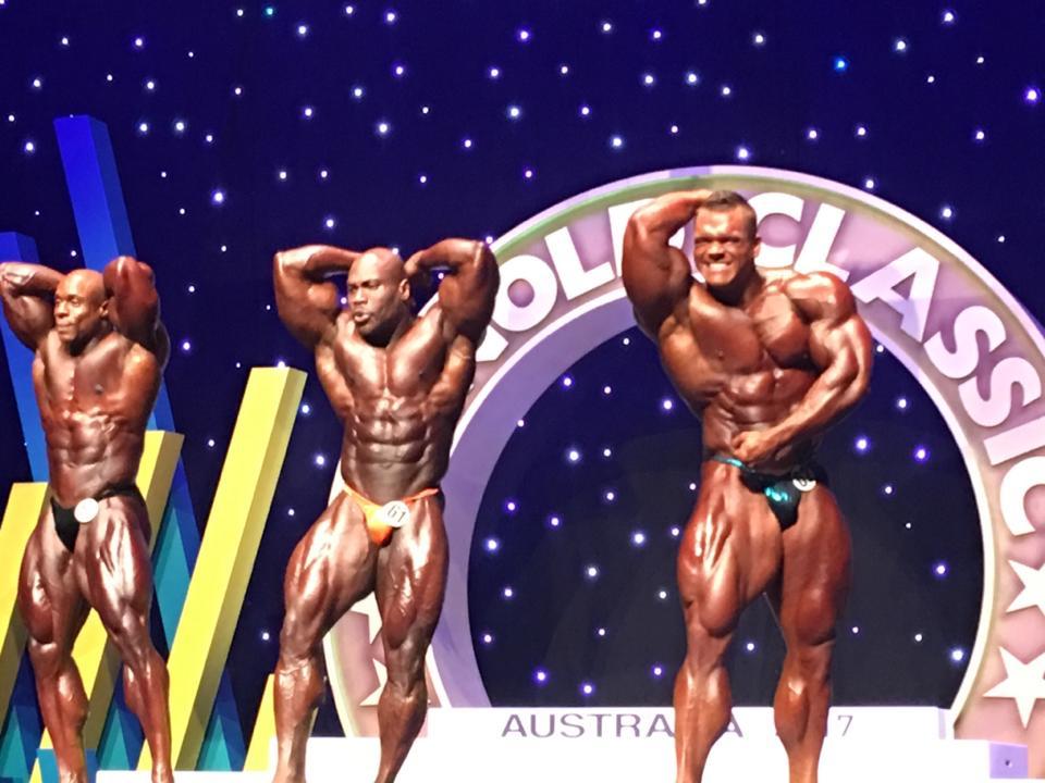 il primo callout dell'Arnold Classic Australia 2017
