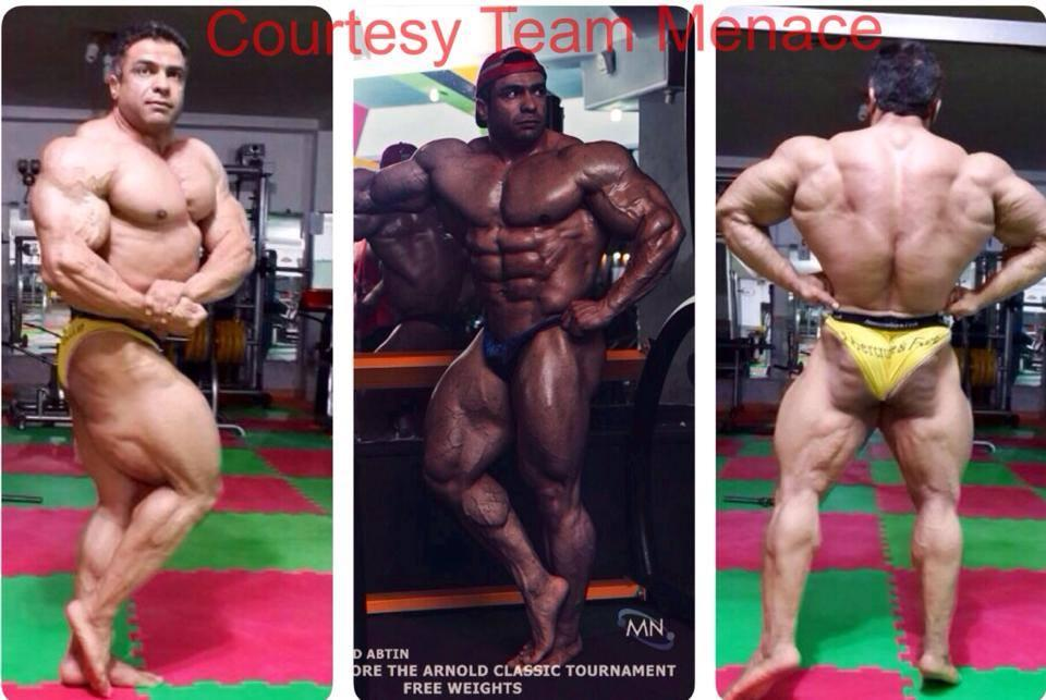 Baito Abbaspour 10 days out of the Arnold Classic Brazil 2014