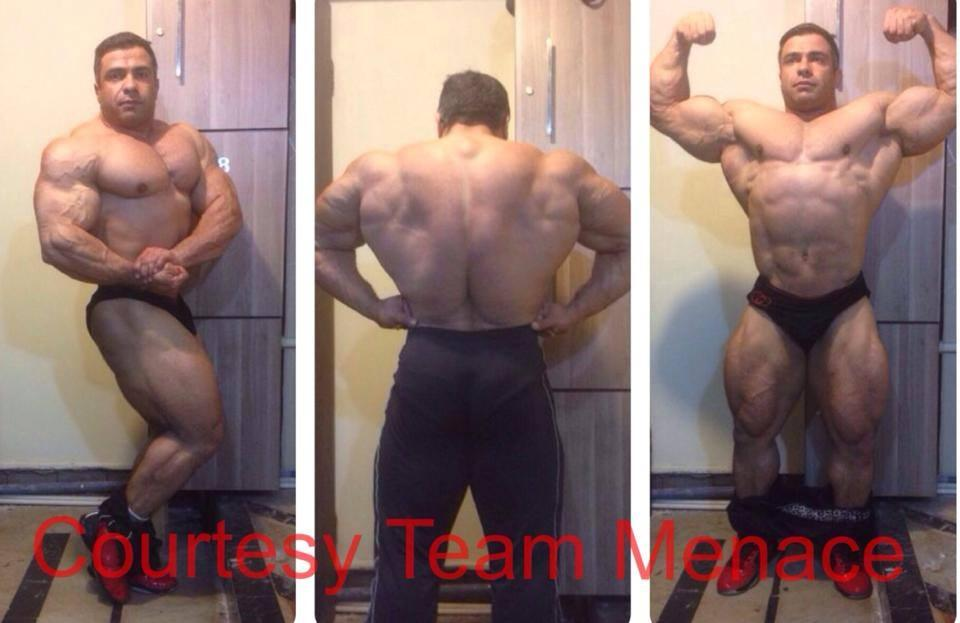 Baito Abbaspour 7 weeks out of the Pro Arnold Classic Rio, Brazil 2014