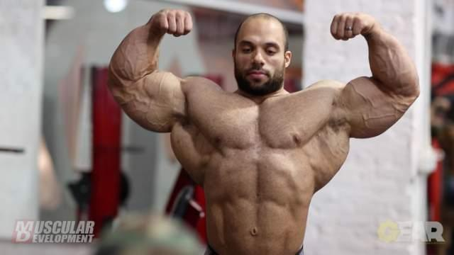 Jon delrosa was 4 weeks out from the 2014 Arnold Classic Brazil