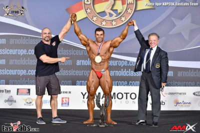 Luke Debono 2016 arnold classic amateur europe