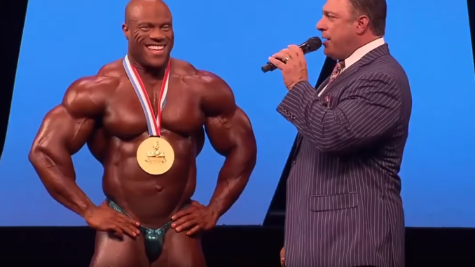phil heath vince il mister olympia nel 2016