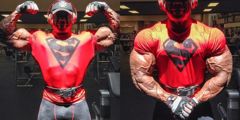 Toney Freeman shares some 6 days out 2014 arnold classic brasil
