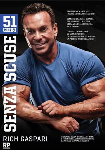 copertina libro Rich Gaspari 51 giorni senza scuse