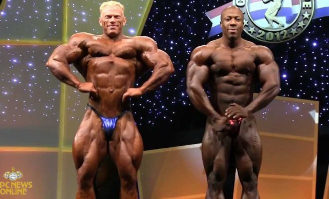 dennis wolf vs shawn rhoden all'Arnold Classic Europe 2012