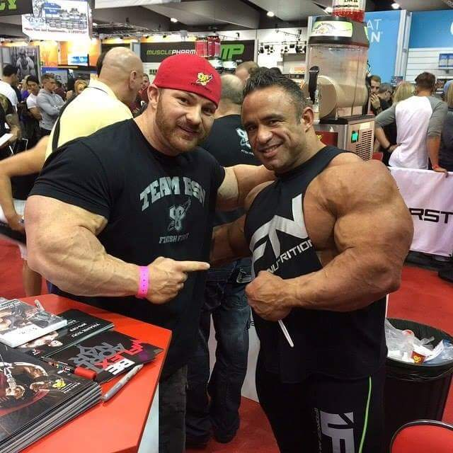 flex lewis e jose raymond all'expo dell'ACA 2015