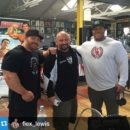 flex lewis e philip heath e hany rambod all'expo dell'ACA 2015