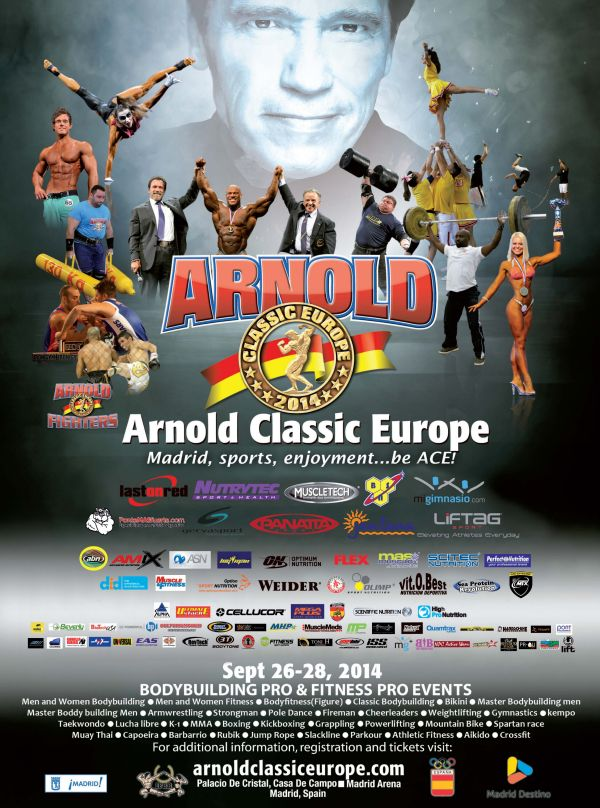locandina arnold classic europe 2014