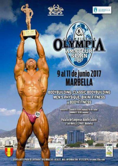 2017 olympia amateur marbella.