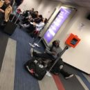 kai greene mangia in aeroporto
