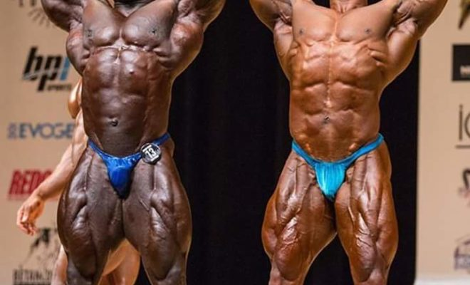 2017 new york pro ifbb sergio oliva jr VS akim Williams