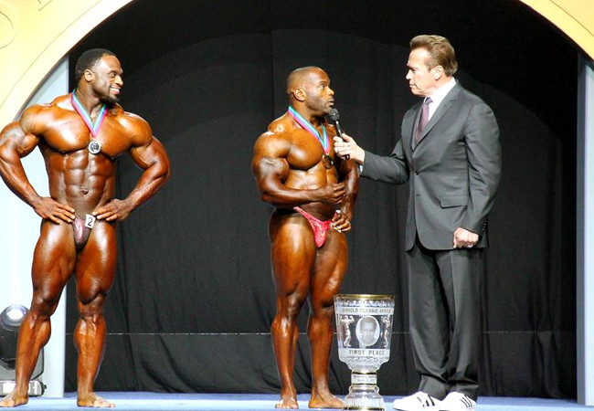 Johnnie Jackson vince l'arnold classic africa nel 2017