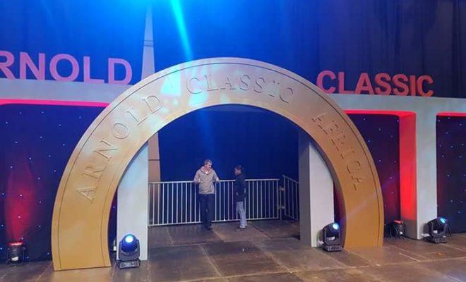 il logo dell'Arnold Classic Africa 2017