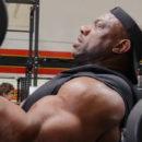 dexter jackson si allena alla gold's gym di venice in california