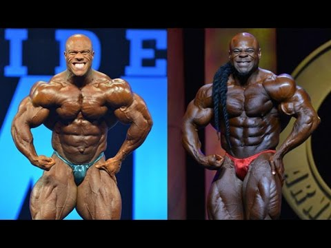 kai greene VS philip heath posa di most muscolar