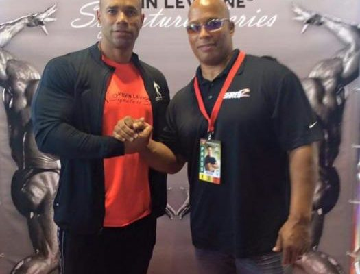 kevin levrone e shawn ray all'arnold classic europe 2015