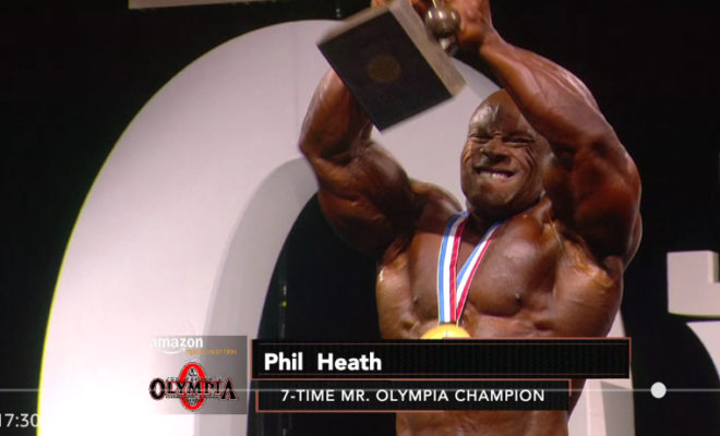 Phil Heath wins the 2017 Mr. Olympia!