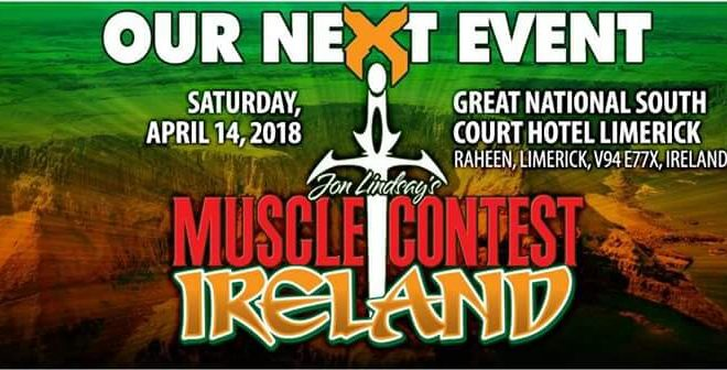 2018 Muscle Contest Ireland IFBB Pro League Qualifier