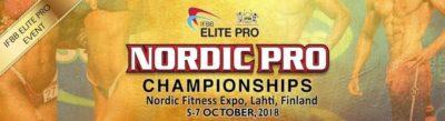IFBB ELITE PRO Nordic PRO IFBB 2018