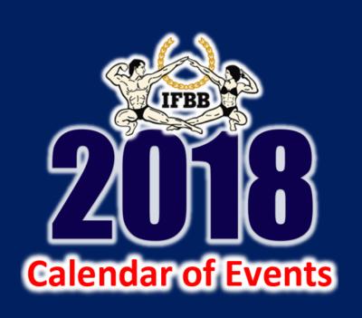 ifbb-international-calendario-2018