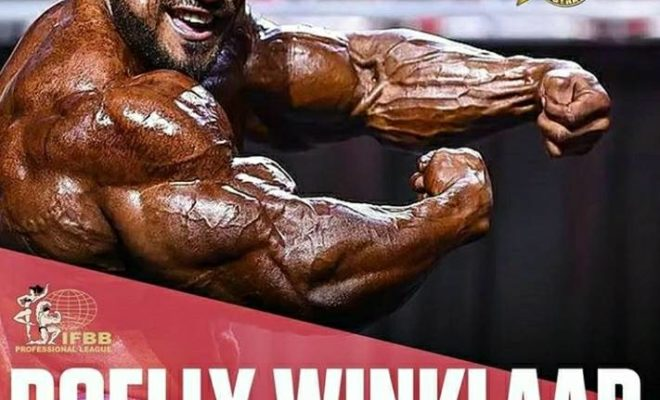 roelly winklaar sarà in australia per l'Arnold Classic Australia 2018