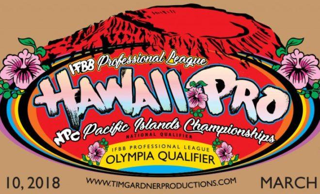 2018 hawaii pro ifbb