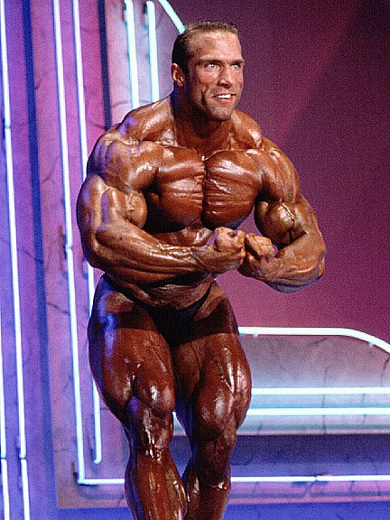 Michael Francois pro ifbb posa più muscoloso