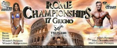 ifbb professional league regional 2018 rome championships