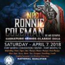 2018 NPC Ronnie Coleman Classic