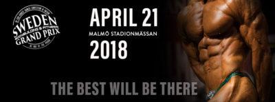 Sweden Bodybuilding & Fitness Grand Prix