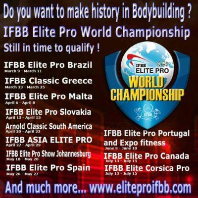 ifbb elite pro ranking
