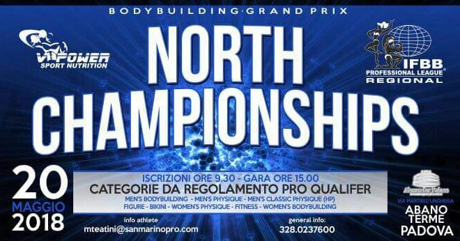 ifbb professional league regional 2018 noth championships