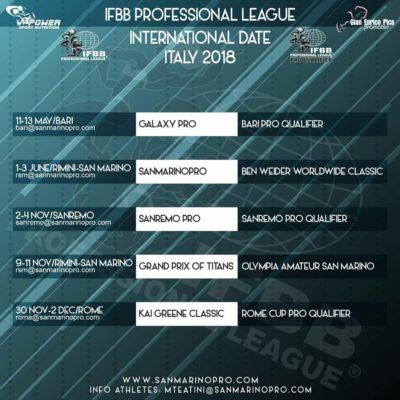 calendario-ifbb-pro-league-aggiornato-1-aprile-2018