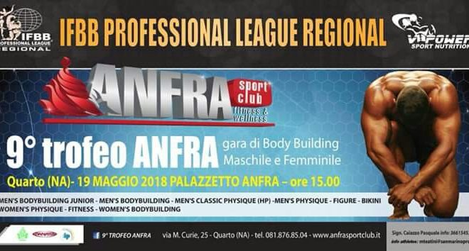 ifbb professional league regional 2018 Anfra