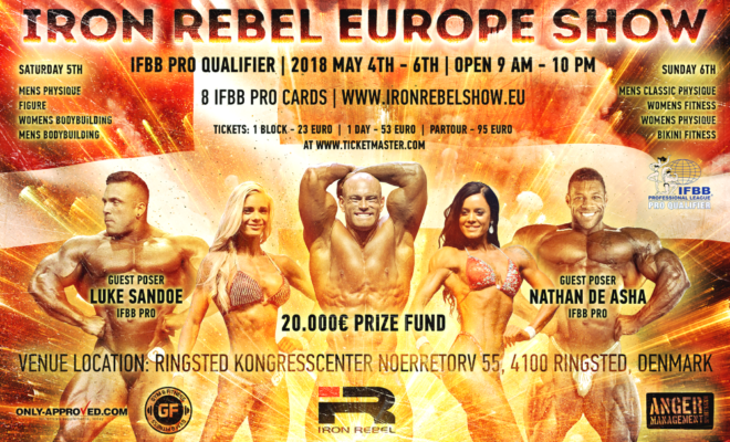 2018 iron rebel europe show