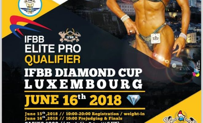 2018 diamon cup ifbb luxemborg