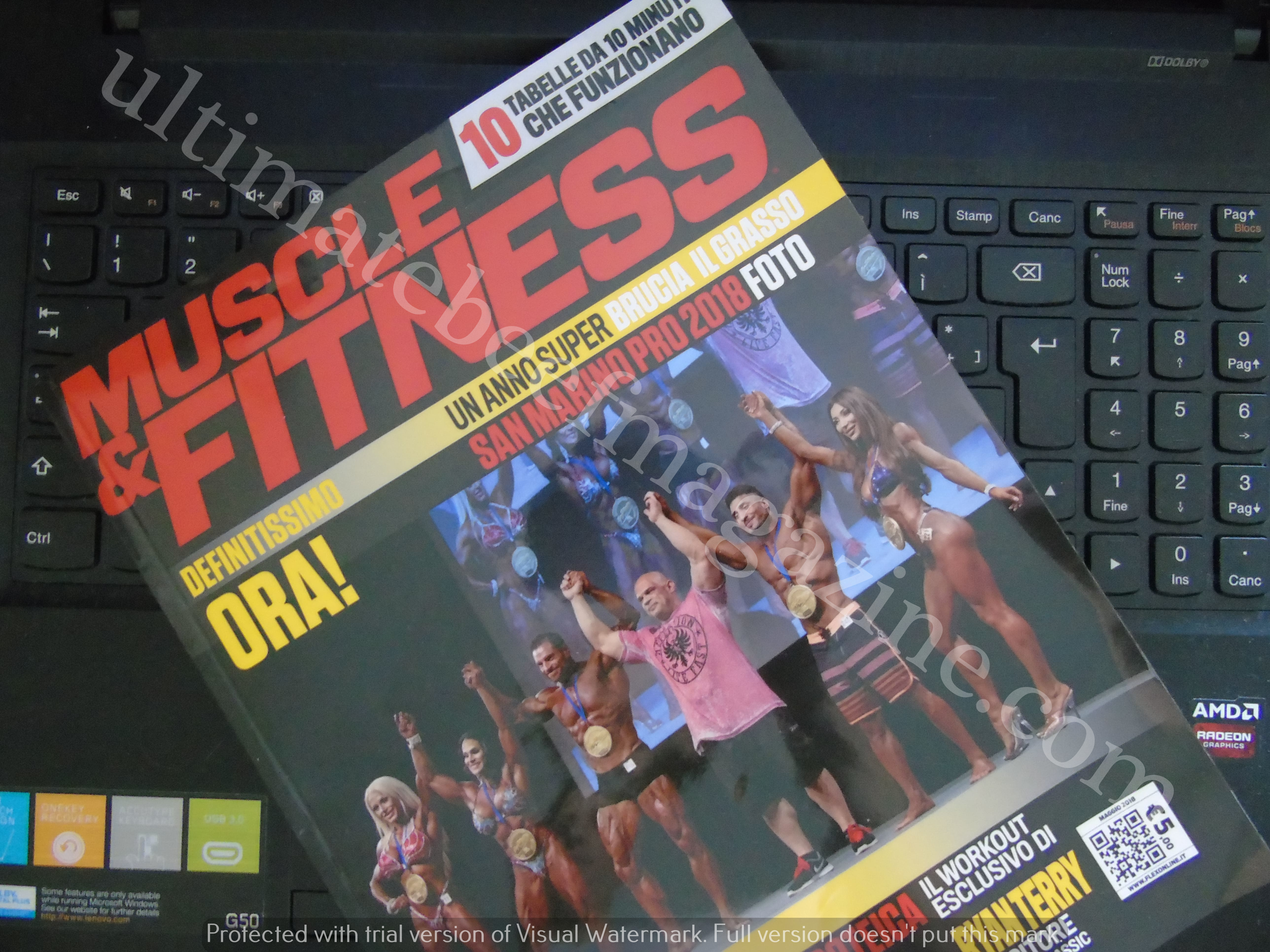 2018 muscle & Fitness Agosto 2018