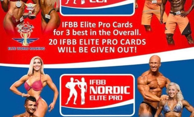 2018 IFBB NORDIC CUP & EXPO