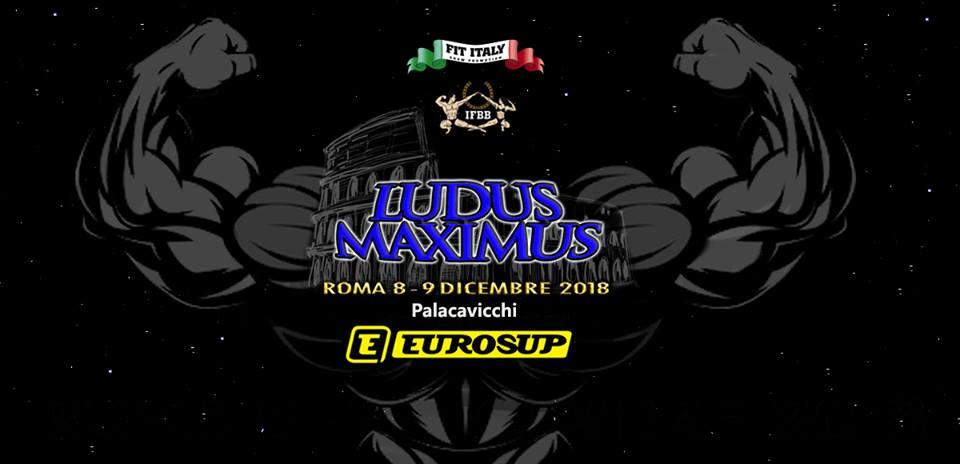2018 ludus maximus ifbb italia