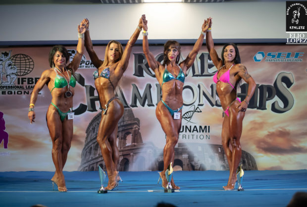 2018 ROME CHAMPIONSHIPS IFBB PRO LEAGUE categoria figure