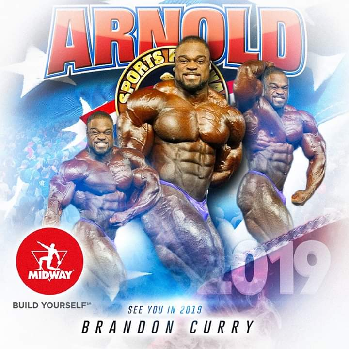 2019 arnold classic ohio brandon curry