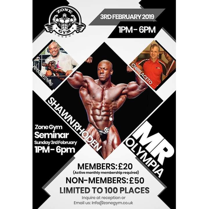 shawn rhoden UK 2019
