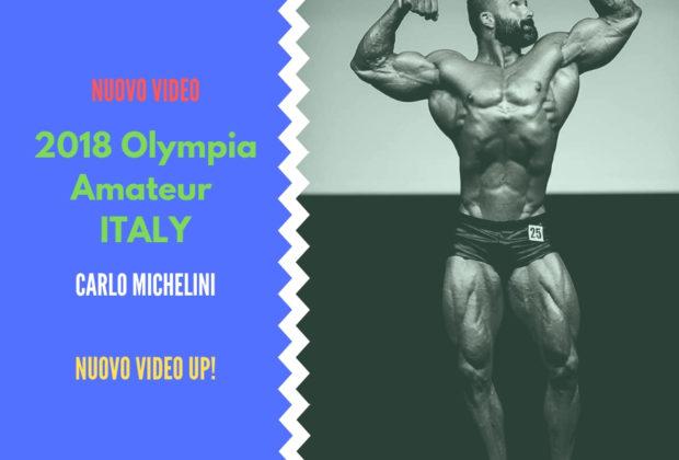 2018 olympia amateur italy Carlo Michelini