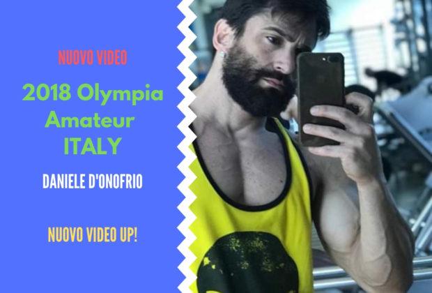 2018 olympia amateur italy daniele d'onofrio