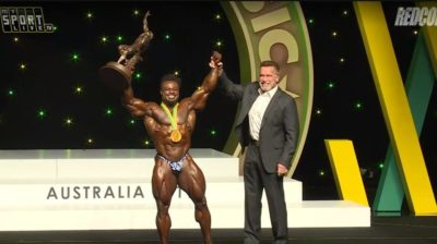 william bonac pro ifbb vince l'arnold classic australia 2019