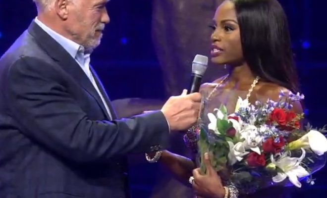 2019 Arnold Classic Figure International Champion Cyd Gillon